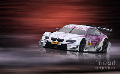 Andy Priaulx M3 Dtm 2012 Poster