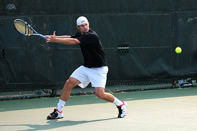 Andy Roddick  Poster by James Marvin Phelps