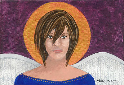 Angel 3 Poster by Billinda Brandli DeVillez