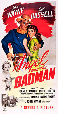 Angel And The Badman, Top L-r John Poster