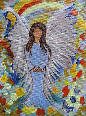 Angel Of Devotion Poster by Ella Kaye Dickey