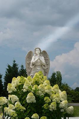 Angel Of Light Poster by Douglas Barnett