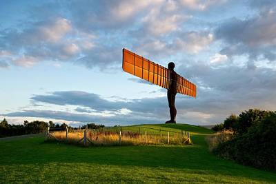 Angel Of The North Poster by Stephen Taylor