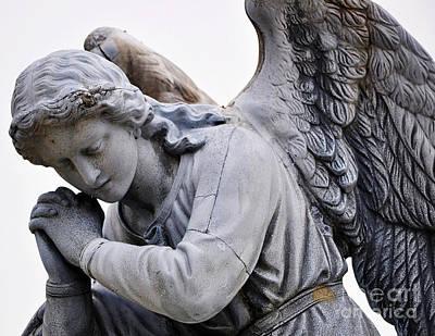 Angel Praying 2 Poster