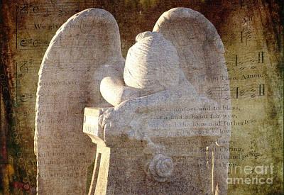 Angel Songs Poster by Sharon Elliott