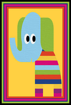 Animal Series 8 Poster by Angelina Vick