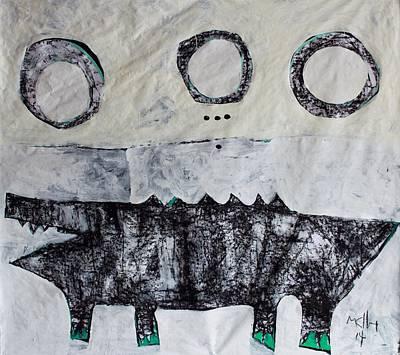 Animalia Cocodrillus No. 3 Poster by Mark M  Mellon