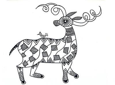 Animals Deer Poster