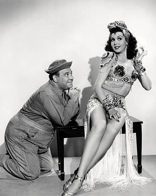 Ann Miller In Hey, Rookie  Poster by Silver Screen