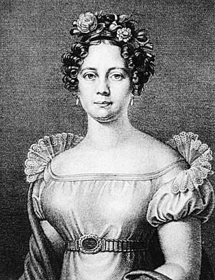 Anna Milder-hauptmann (1785-1838) Poster