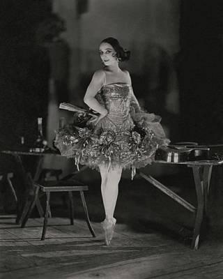 Anna Pavlova In Her Ballet Costume Poster