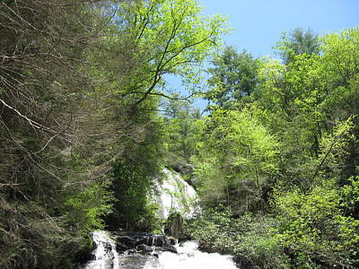 Poster featuring the photograph Anna Ruby Falls Helen Ga 01 by Brian Johnson