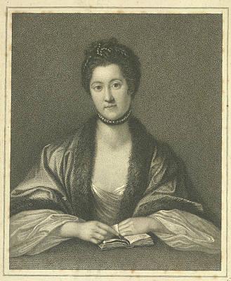 Anna Seward Poster by British Library