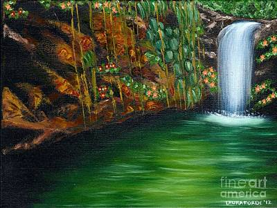 Annadale Waterfall Poster