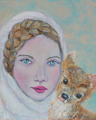 Annalina Litte Angel Of Graceful Light Poster