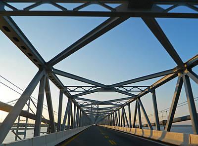 Annapolis Bay Bridge At Sunrise Poster