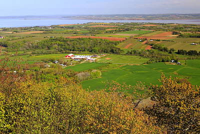 Annapolis Valley Nova Scotia Poster