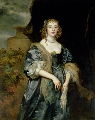 Anne Carr, Countess Of Bedford, C.1638 Poster by Sir Anthony van Dyck