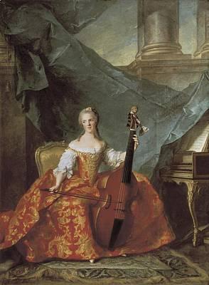 Anne Henriette De France 1727 - 1752 Poster