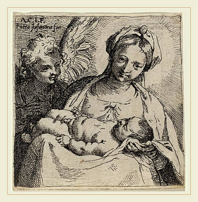 Annibale Carracci Italian, 1560-1609, Madonna And Child Poster by Litz Collection