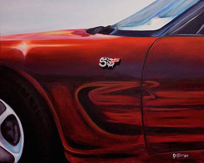 Anniversary Edition Corvette Poster