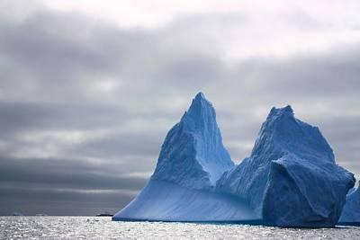 Antarctic Iceberg 2 Poster by FireFlux Studios