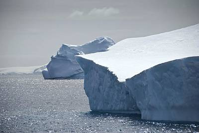 Antarctic Icebergs Poster by Science Photo Library