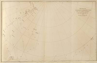 Antarctic Magnetism Observations Poster by King's College London