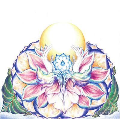 Antaryamin Oneness Art Poster