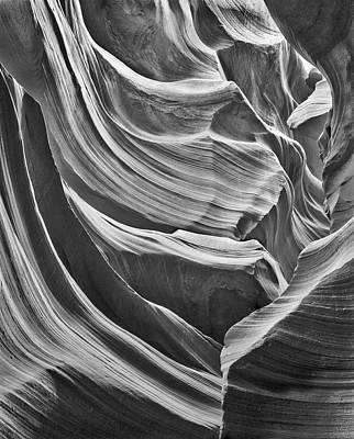 Antelope Arcade Lower Antelope Canyon Poster by John Ford