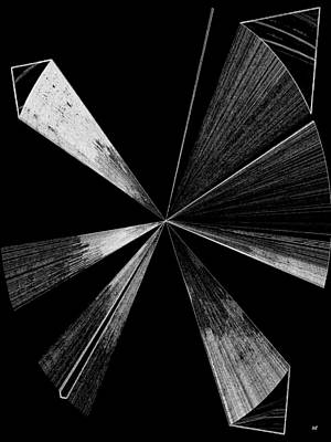 Antenna- Black And White  Poster by Will Borden