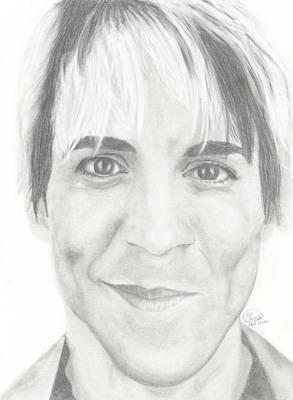 Anthony Kiedis Poster by Olivia Schiermeyer