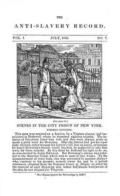 Anti-slavery, 1835 Poster