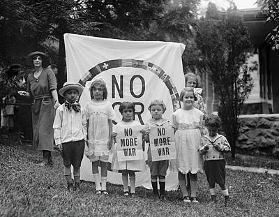 Anti-war Protest, 1922 Poster by Granger