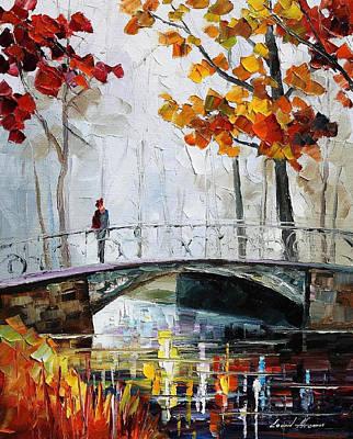 Anticipation - Palette Knife Landscape Oil Painting On Canvas By Leonid Afremov Poster