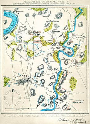 Antietam, Maryland, 1862 Poster