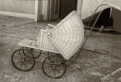 Antique Baby Carriage Poster
