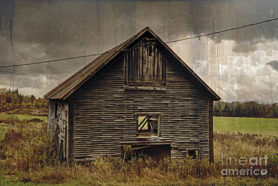 Antique Barn Poster by Alana Ranney