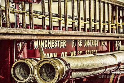 Antique Fire Apparatus Poster by Jim Lepard