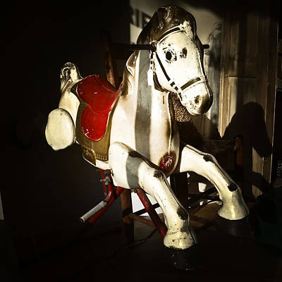 Antique Horse C Poster by Patrick M Lynch