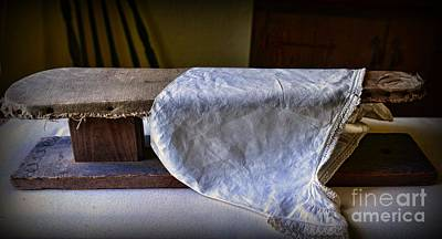 Antique Ironing Board Poster