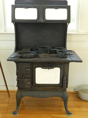 Antique Stove Number 2 Poster by George Pedro