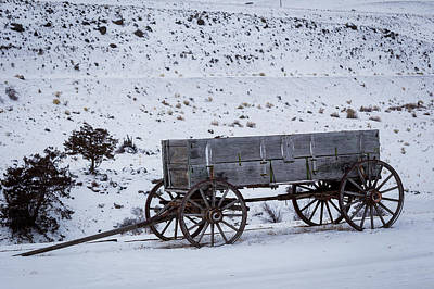 Antique Wagon Poster