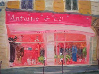 Antoine & Lili, 2010 Oil On Canvas Poster by Antonia Myatt