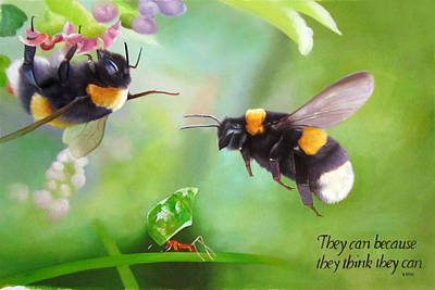 Ants Bees Poster by Anny Huang