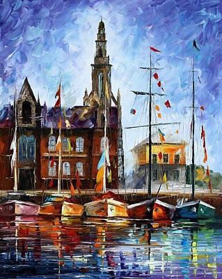 Antwerp - Belgium Poster by Leonid Afremov