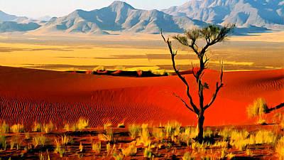 Anza Borrego Desert Southern California Poster by Bob and Nadine Johnston