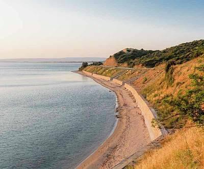 Anzac Cove, Gallipoli, Turkey Poster by Ken Welsh