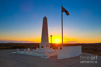 Anzac Memorial At Sunrise Poster by Bill  Robinson