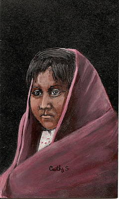 Apache Girl Poster